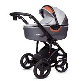 """QUARA"" wózek 3w1 kolor 26/ LIGHT GREY ECO firmy COTOBABY"